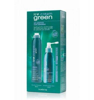 Green Sensitive Kit Herkän hiuspohjan pakkaus