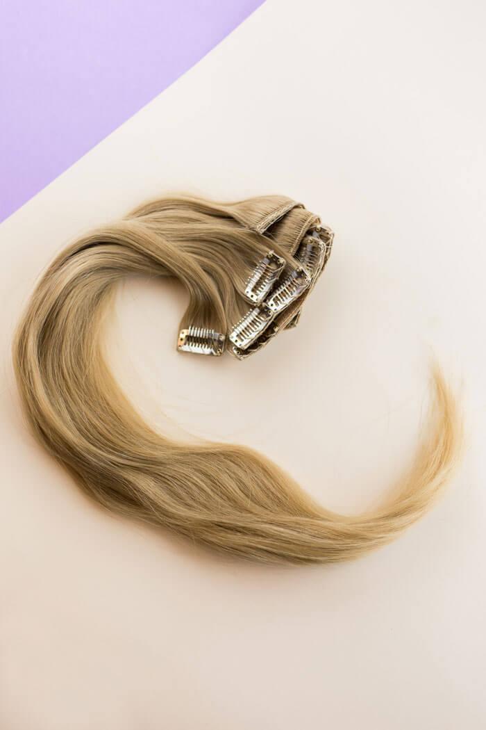 Clip on hiustenpidennykset  01e9709ad4